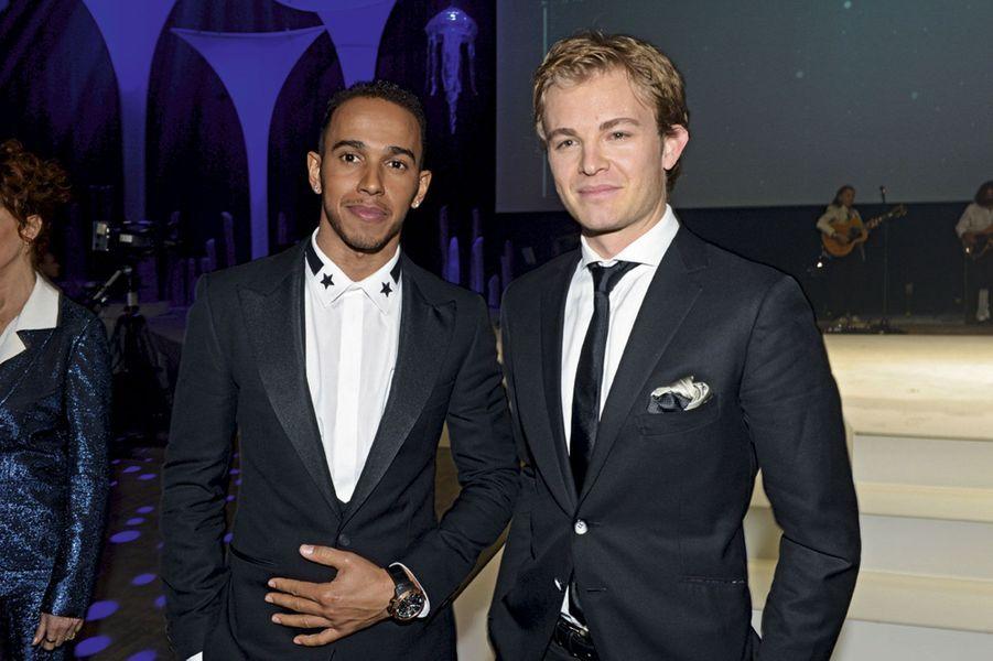 Lewis Hamilton et Nico Rosberg