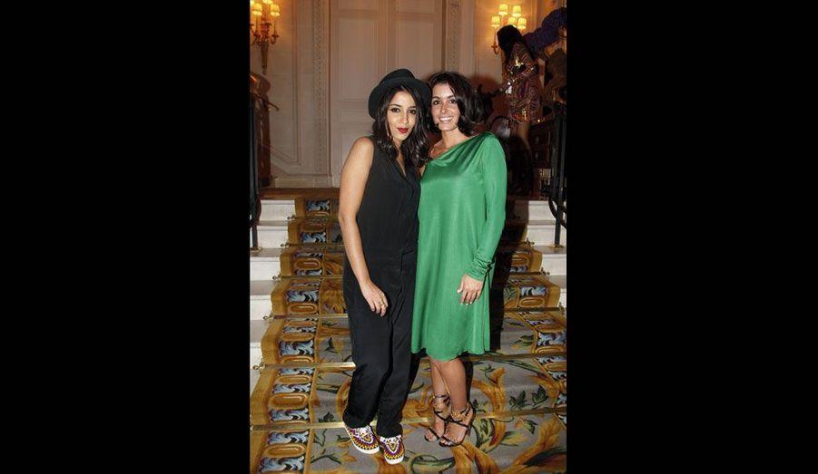 Leïla Bekhti et Jenifer
