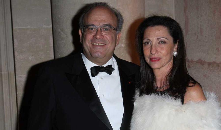 Le professeur David Khayat et sa femme