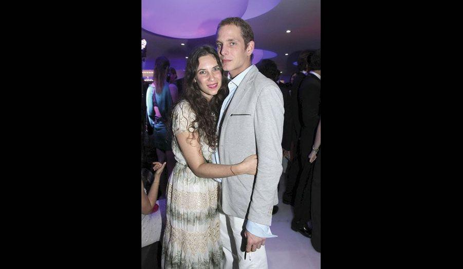 Tatiana Santo Domingo et son fiancé, Andrea Casiraghi.