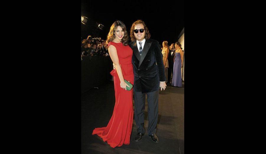 David Wertheimer et l'actrice anglaise Kelly Brook.