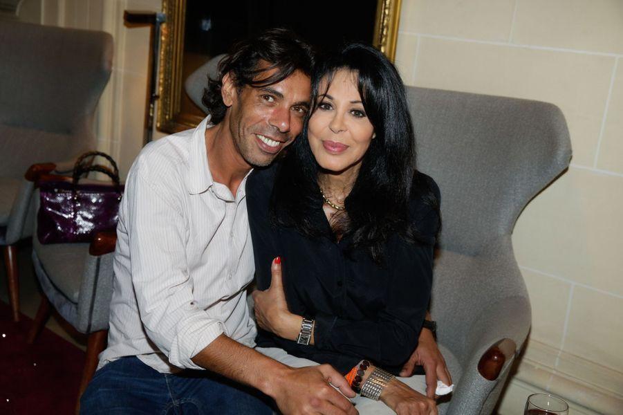 François Hassan Guerrar et Yamina Benguigui au 10e anniversaire de l'Hôtel de Sers à Paris, le 10 septembre 2014.