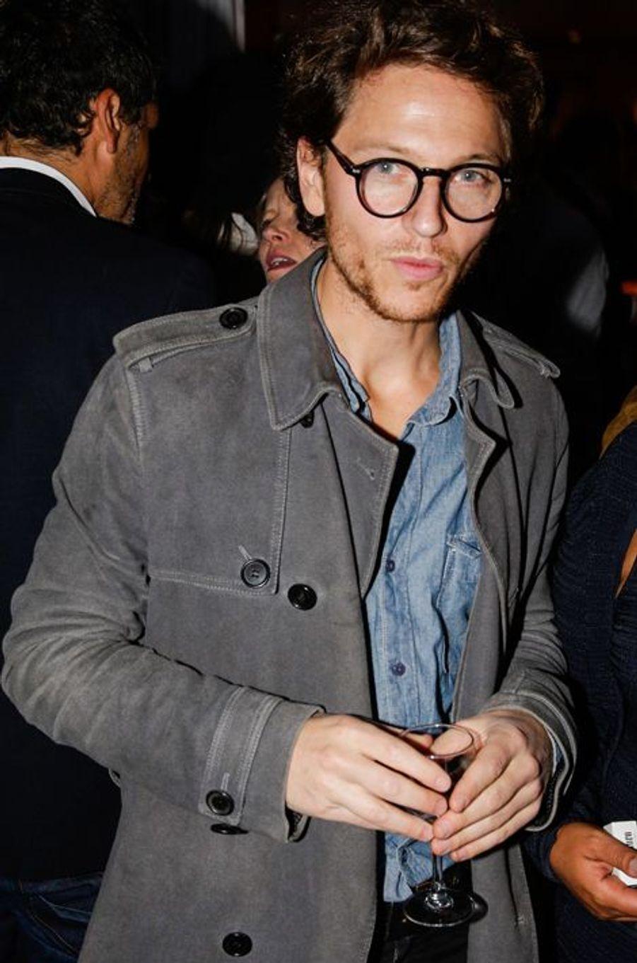 Raphaël au 10e anniversaire de l'Hôtel de Sers à Paris, le 10 septembre 2014.