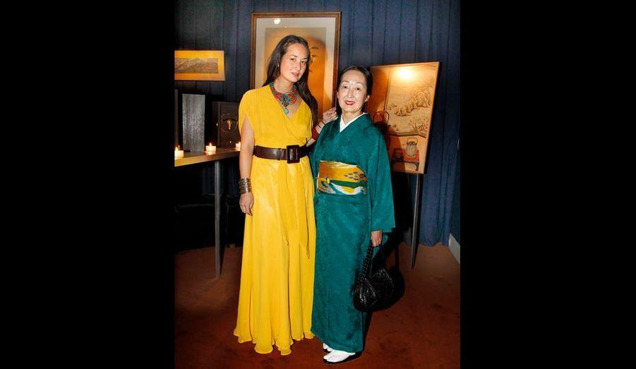 Complices, Harumi et sa mère, Setsuko Klossowska de Rola.