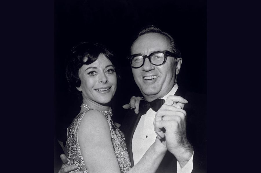 Le sixième et dernier mari, Lewis J. Boies. Il est l'avocat de ses précédents divorces. Ici, à Hollywood, en 1964.