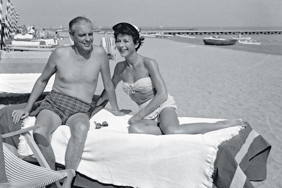 Le cinquième mari (et le plus riche) : le pétrolier texan Howard Lee. Ici, en 1955, à Venise.