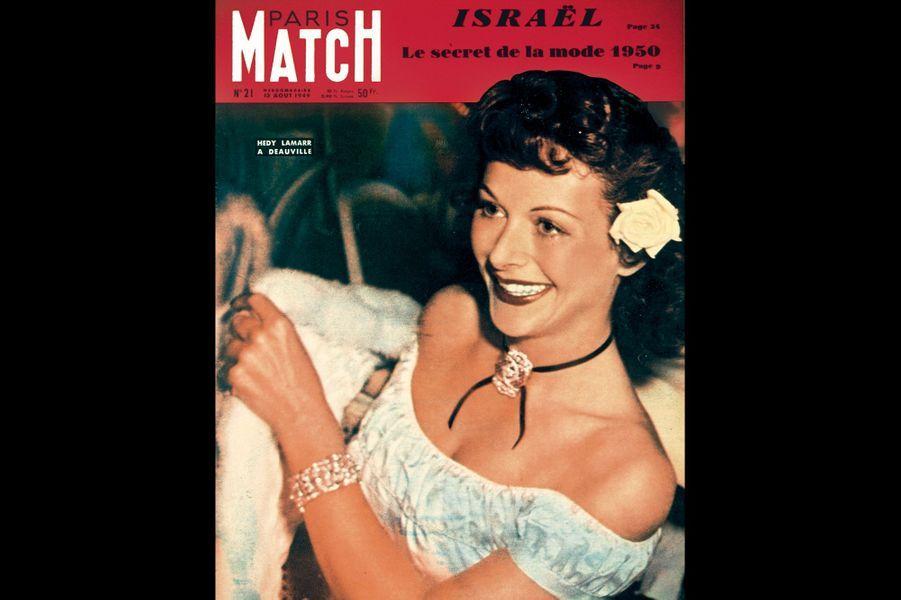 En une du Paris Match du 13 août 1949. L'année de « Samson et Dalila ».