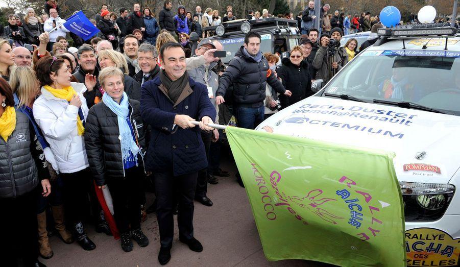 Carlos Ghosn, le PDG de Renault-Nissan, au départ!