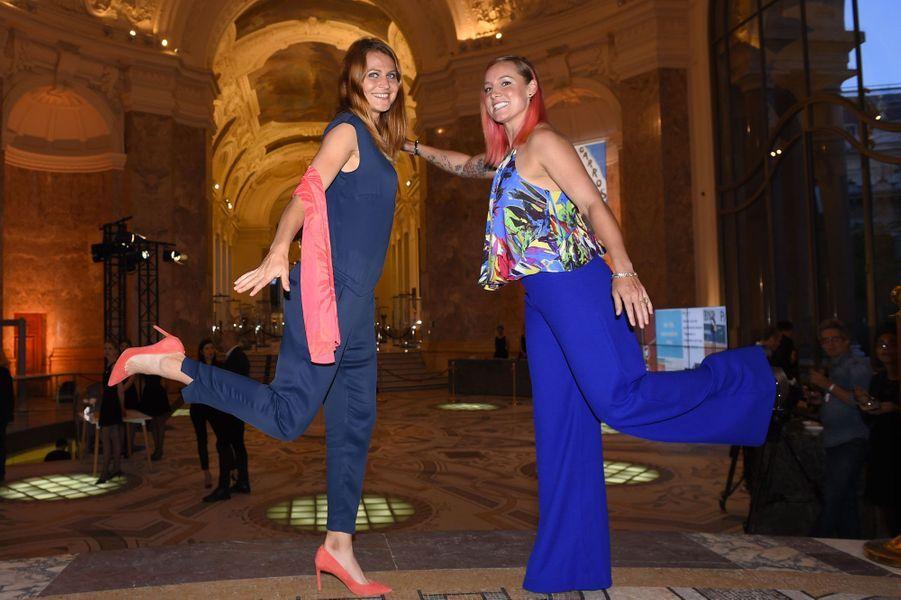 Lucie Safarova et Bethanie Mattek-Sands