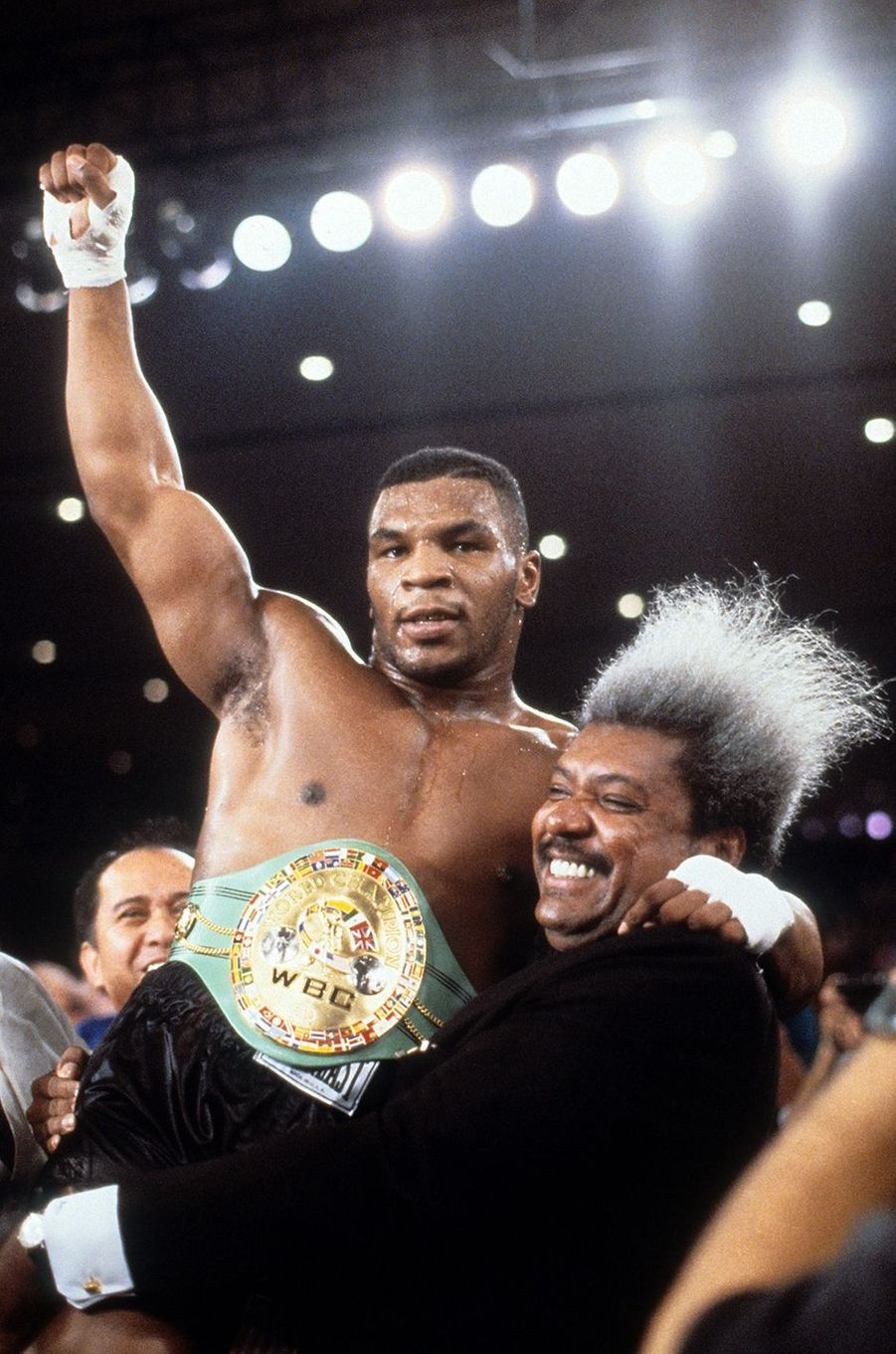 Mike Tyson à Vegas, 1986