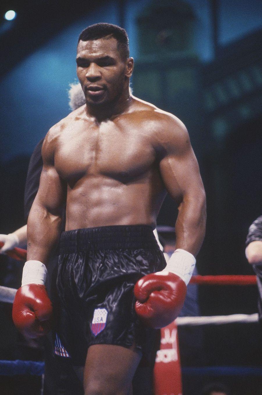 Mike Tyson en 1990