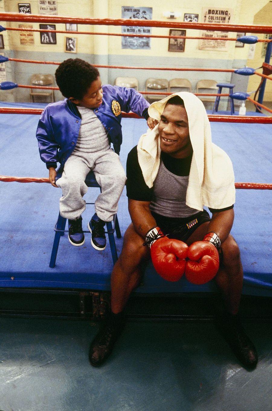 Mike Tyson, février 1987