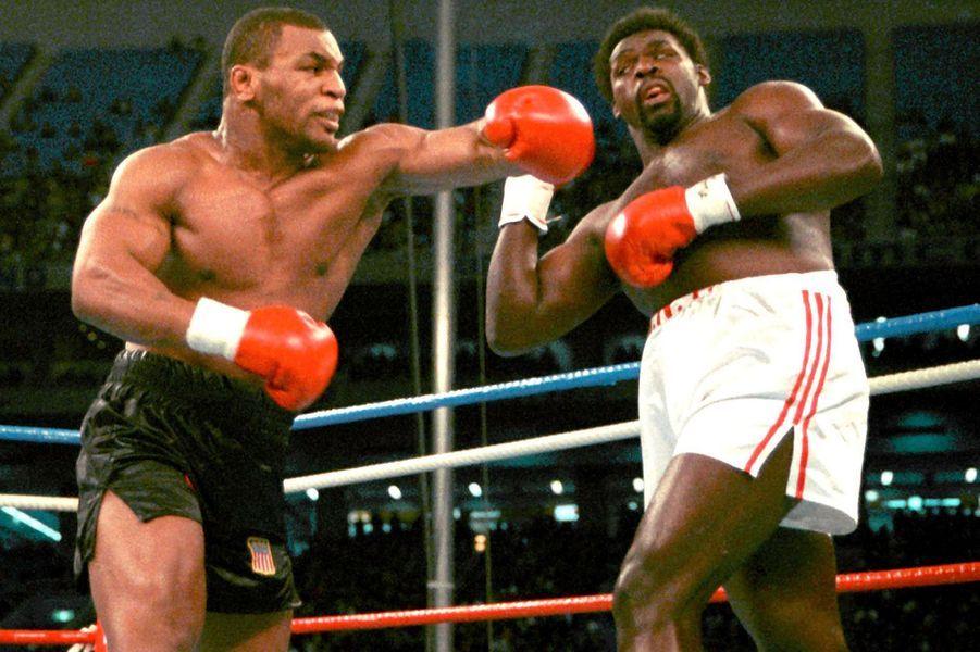 Mike Tyson sur le ring, 1988
