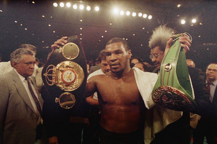 Mike Tyson, un nouveau triomphe 1987