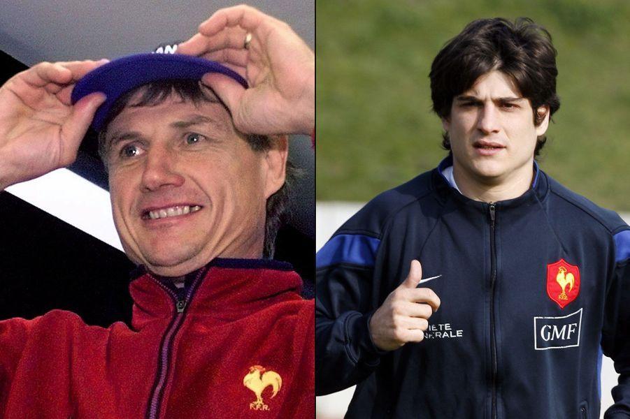 Les valeurs du rugby se transmettent de père en fils. Jean-Claude Skrela, aujourd'hui directeur technique national et ancien coach de l'équipe de France peut être fier de son fils David, international français et ancien capitaine des moins de 20 ans.