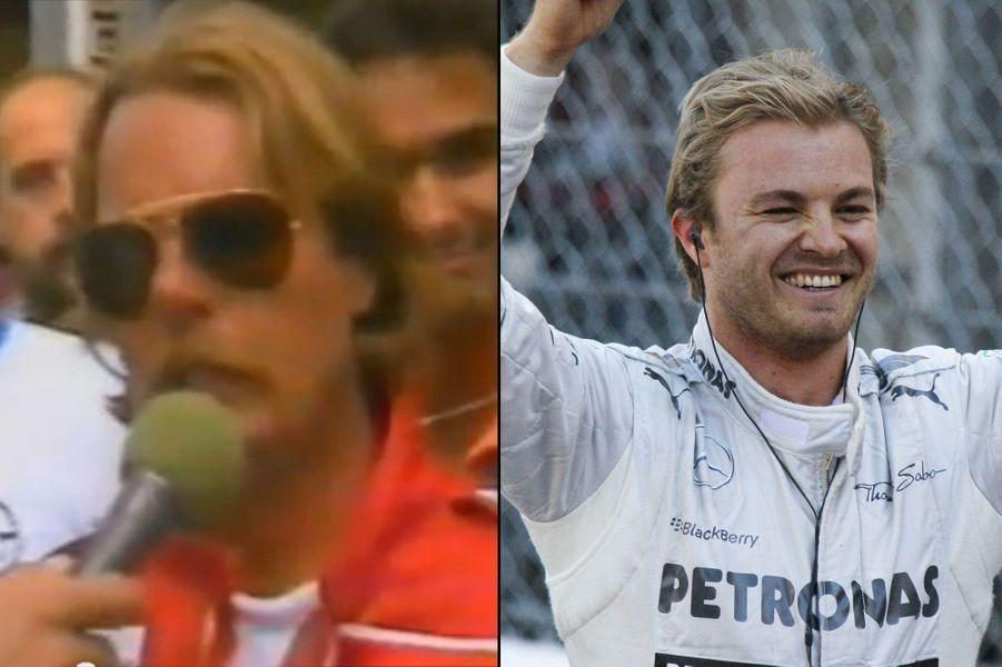 En 1983, l'Allemand Keijo Erik «Keke» Rosbergremporte le Grand Prix de Monaco, malgré une piste humide et dangereuse. Trente ans plus tard, son fils réitère l'exploit et se paye même le luxe de devancer son coéquipier star, l'Anglais Lewis Hamilton.