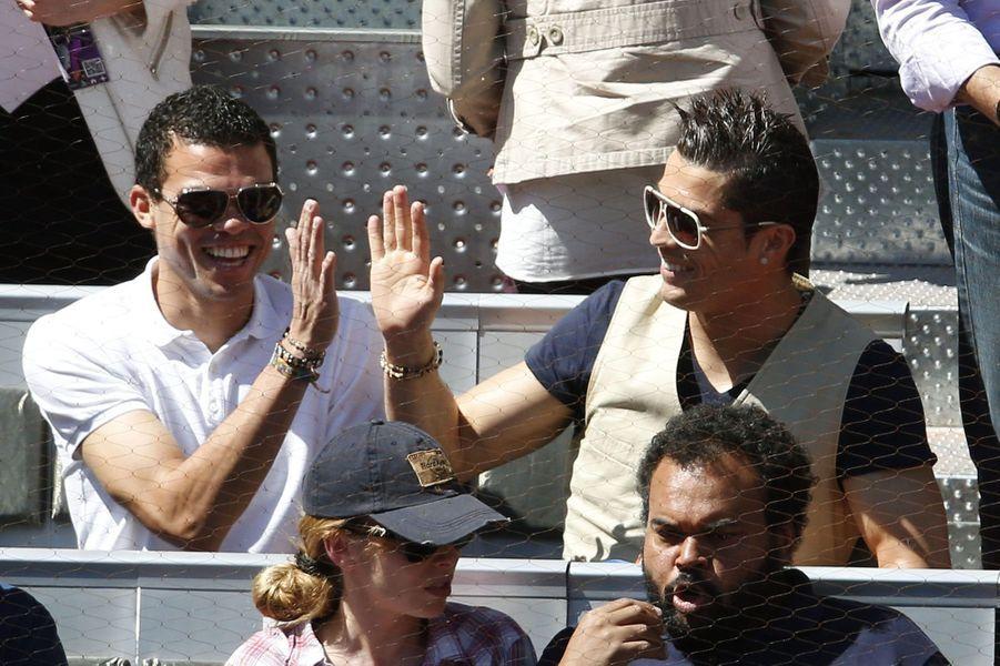 Cristiano Ronaldo et Kepler Pepe.