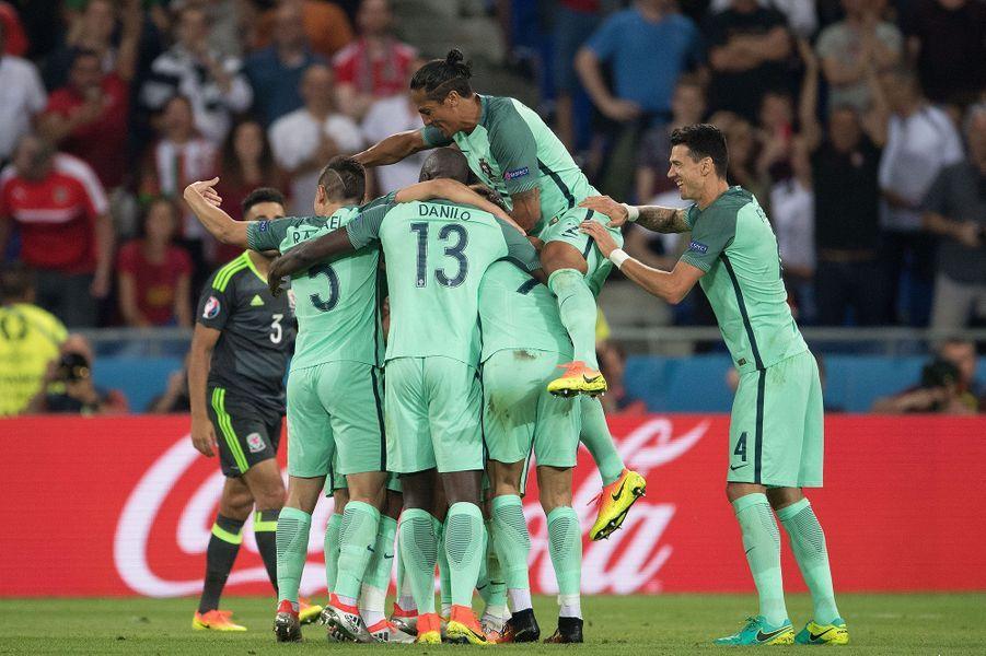 Cristiano Ronaldo et l'équipe du Portugal.