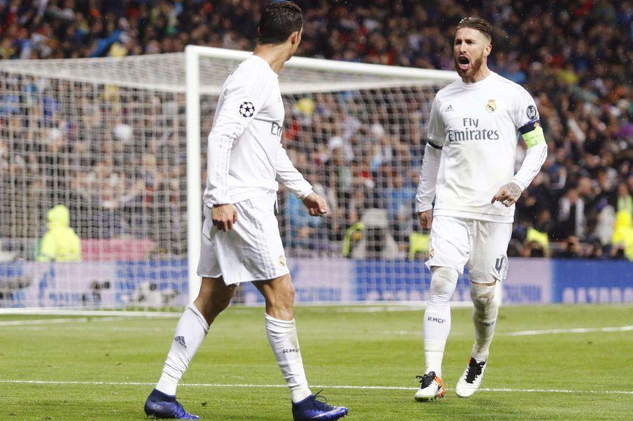 Cristiano Ronaldo et Sergio Ramos.
