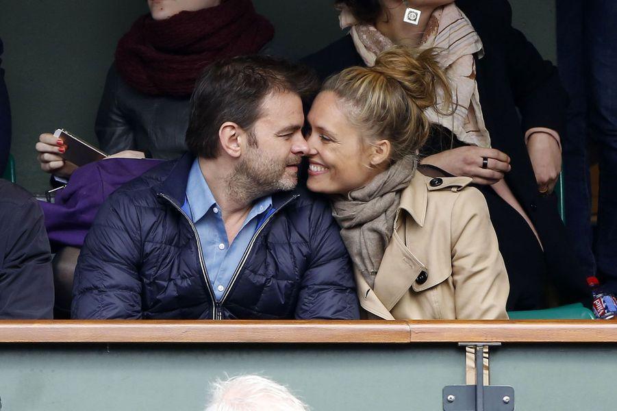 Clovis Cornillac et son épouse, Lou