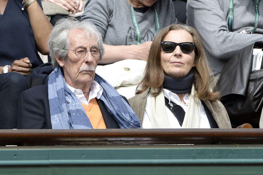 Jean Rochefort et son épouse