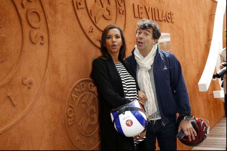 Karine Lemarchand et Stéphane Plaza