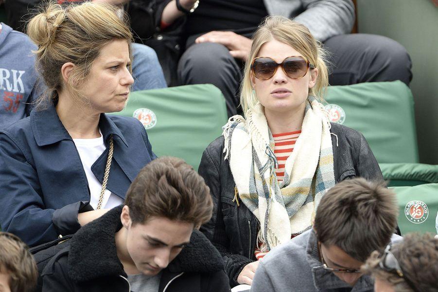 Marina Foïs et Mélanie Thierry