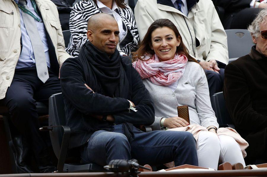 Rachel Legrain-Trapani et Aurélien Capoue