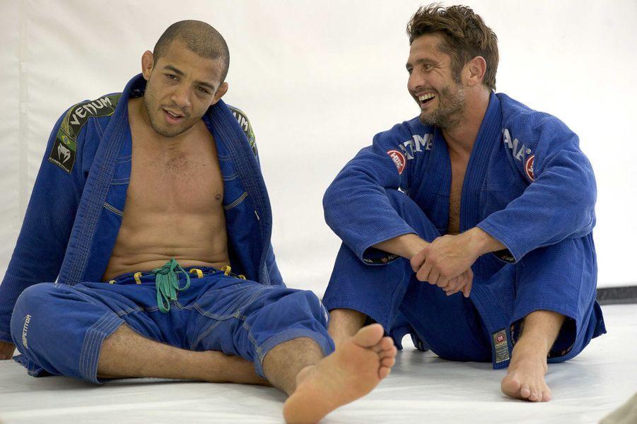 Rencontre avec le champion du monde de MMA, Jose Aldo