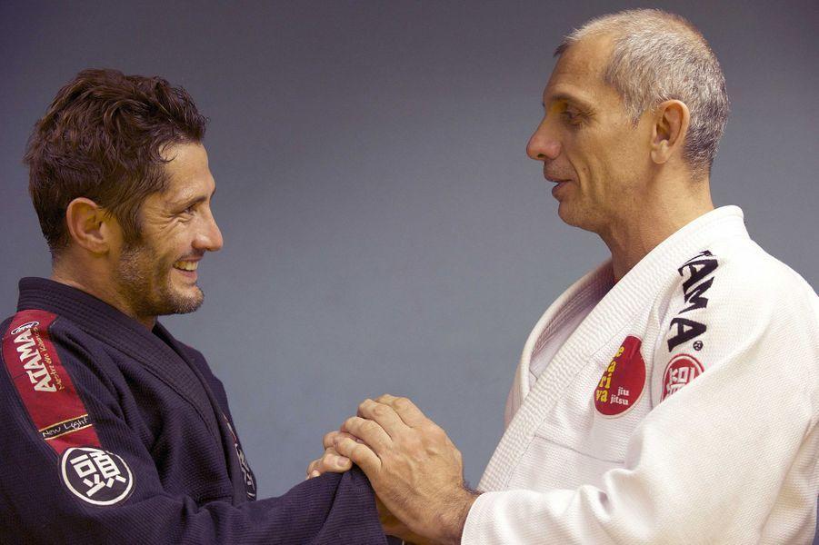 Rencontre avec le maître de Jiu-Jitsu, Ricardo De La Riva dans son centre d'entraînement