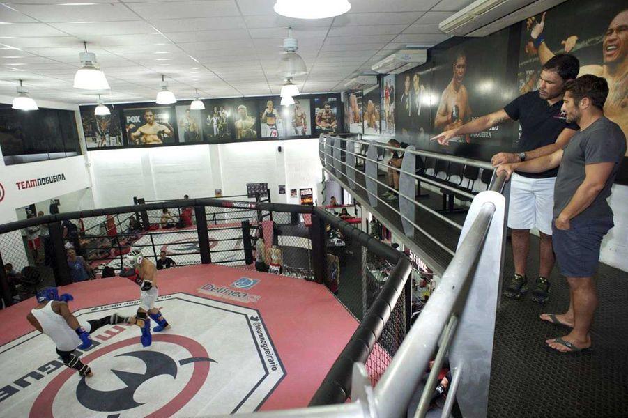 Visite de l'académie Nogueira, temple du MMA fondé par les frères champions