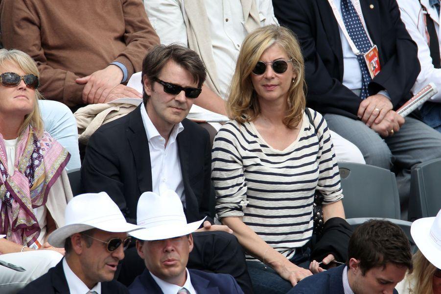François Baroin et Michèle Laroque