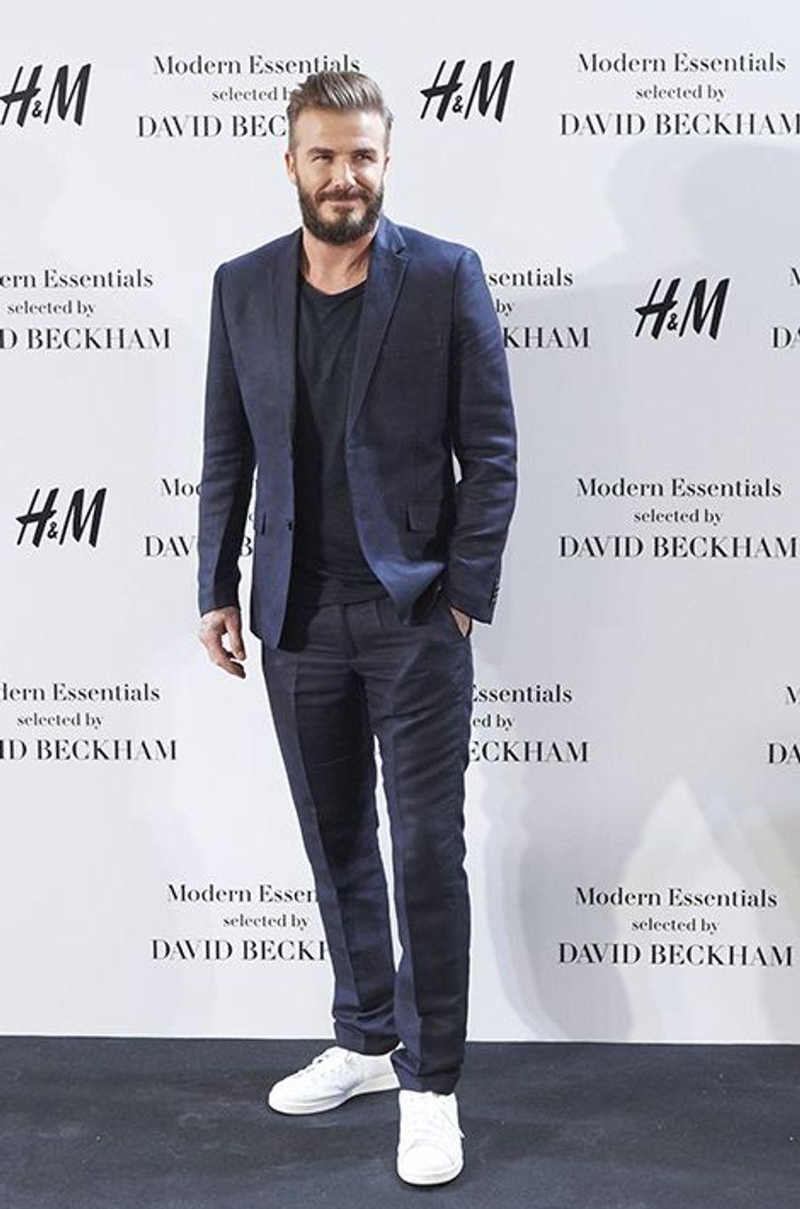 David Beckham était à Madrid pour H&M