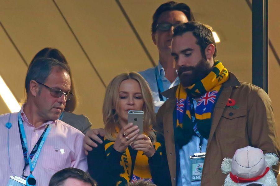 Kylie Minogue et son compagnon Joshua Sasse