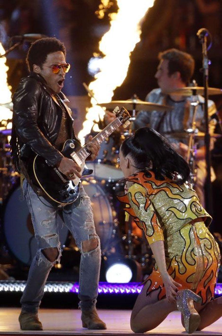 Katy Perry et Lenny Kravitz