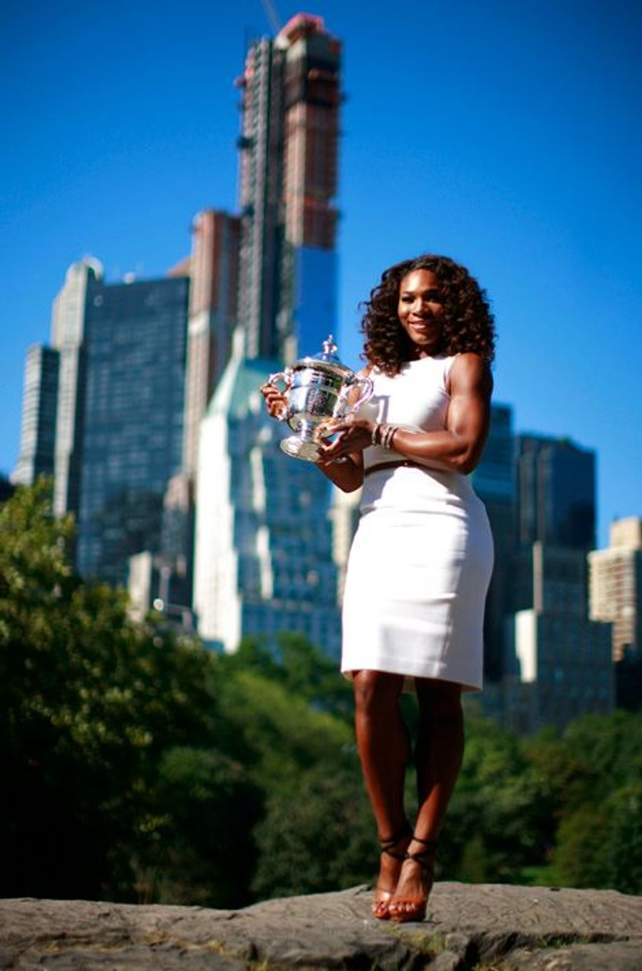 Pour l'instant, Serena Williams a remporté 36 tournois du Grand Chelem.