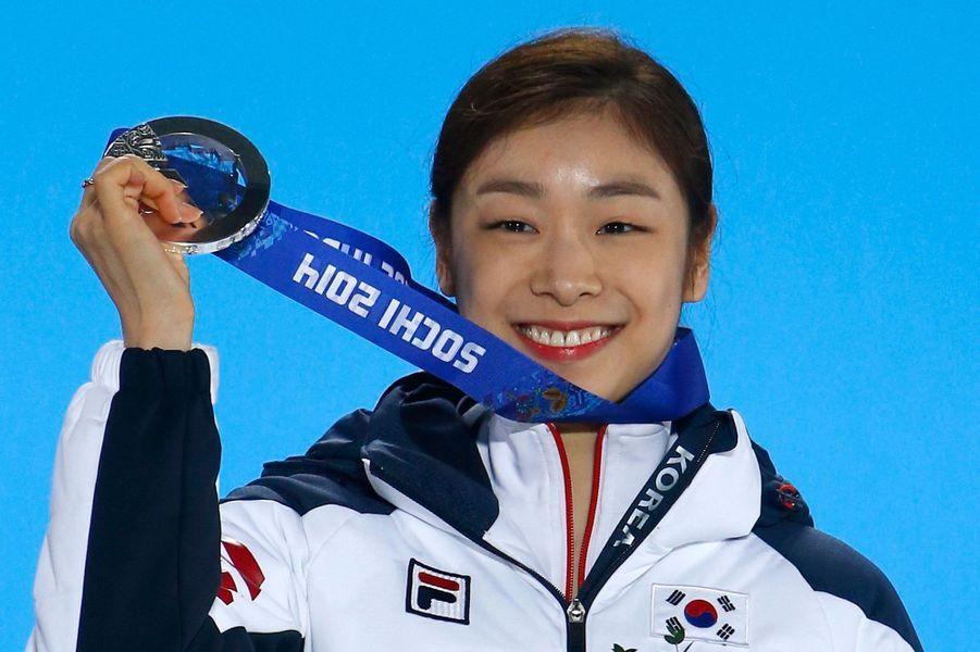La patineuse Kim Yuna, 16,3 millions de dollars