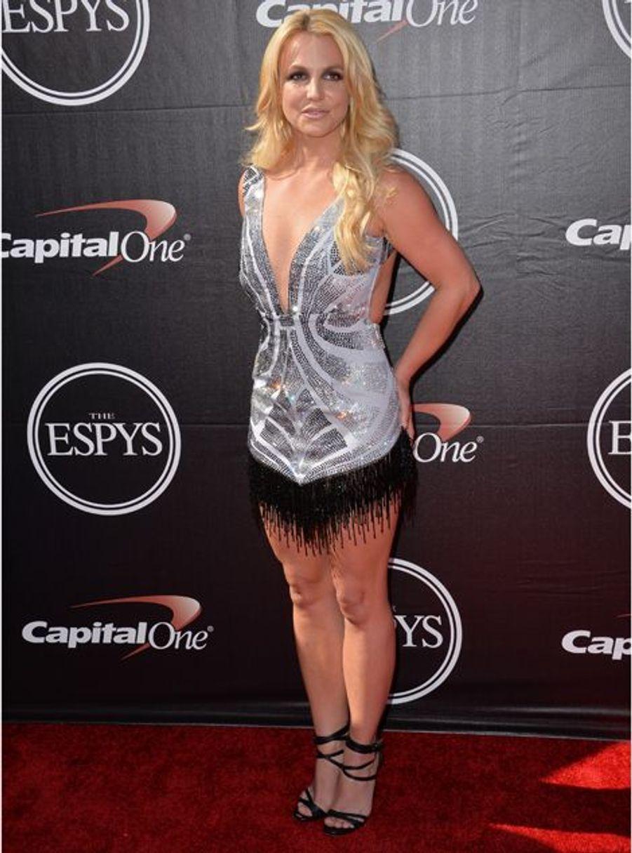 Britney Spears à Los Angeles le 15 juillet 2015