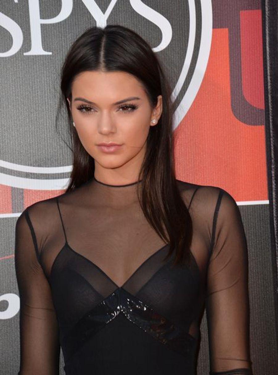 Kendall Jenner à Los Angeles le 15 juillet 2015