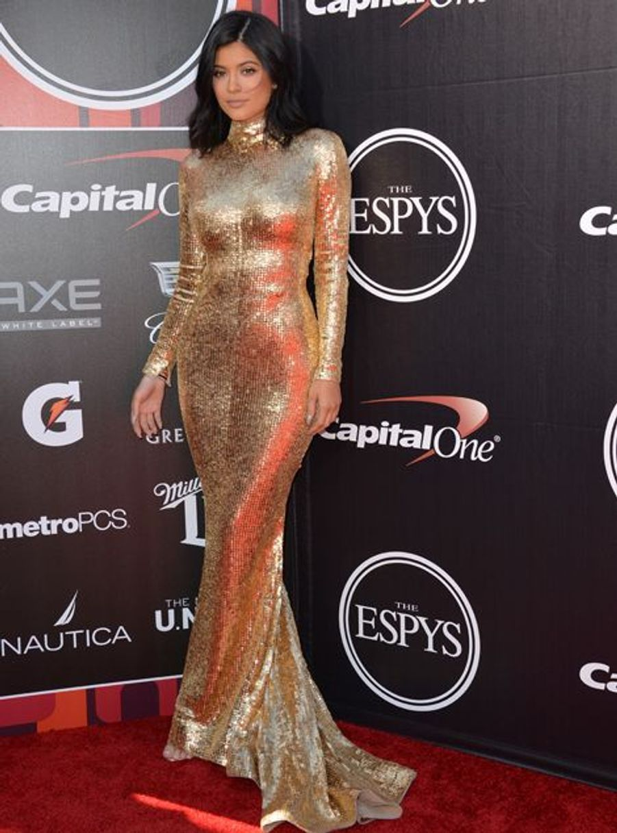 Kylie Jenner à Los Angeles le 15 juillet 2015