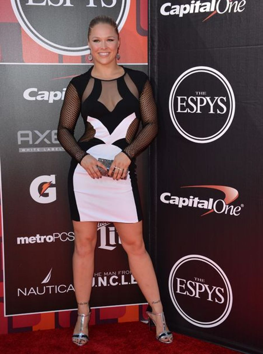 Ronda Rousey à Los Angeles le 15 juillet 2015