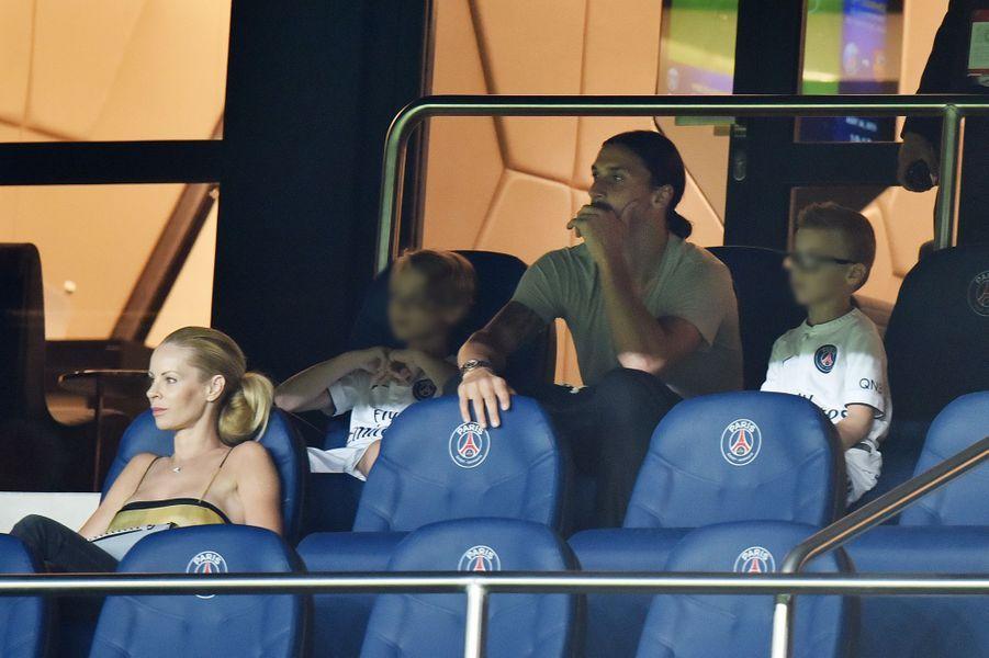 Zlatan Ibrahimovic en famille