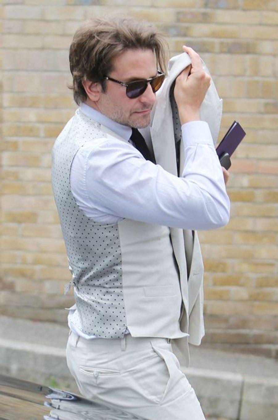 Bradley Cooper à Londres le 12 juillet 2015