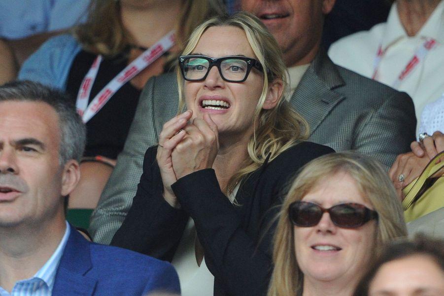 Kate Winslet à Londres le 12 juillet 2015