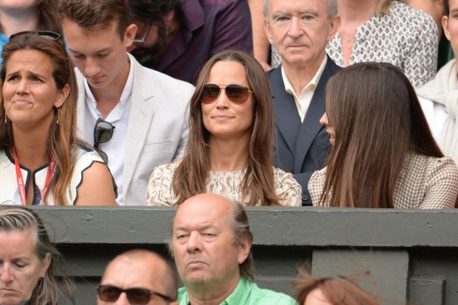 Pippa Middleton à Londres le 12 juillet 2015