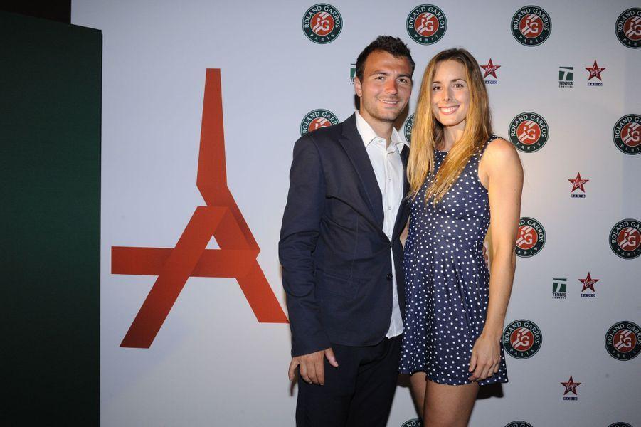 Alizé Cornet et Enzo Py