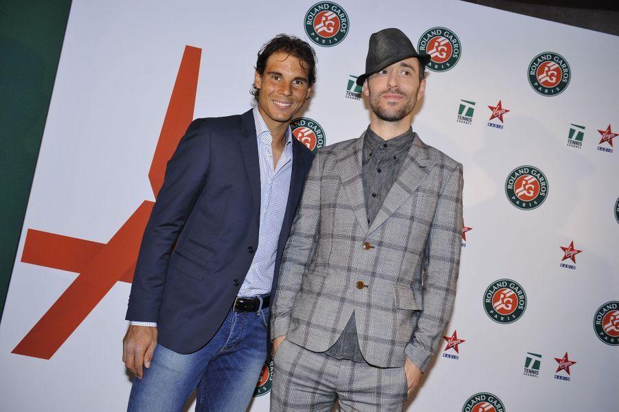 Rafael Nadal et Charlie Winston