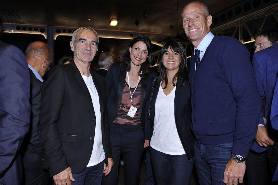 Raymond Domenech, Estelle Denis, Guy Forget