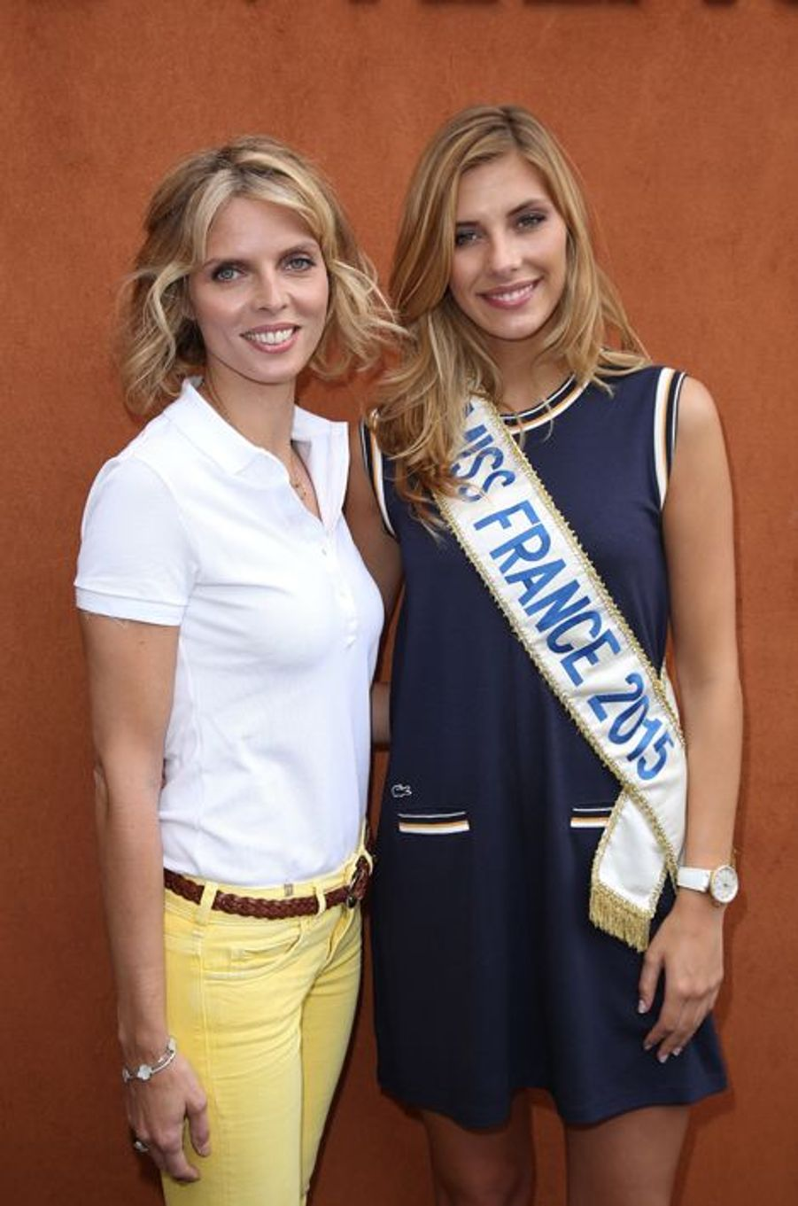 Sylvie Tellier et Camille Cerf