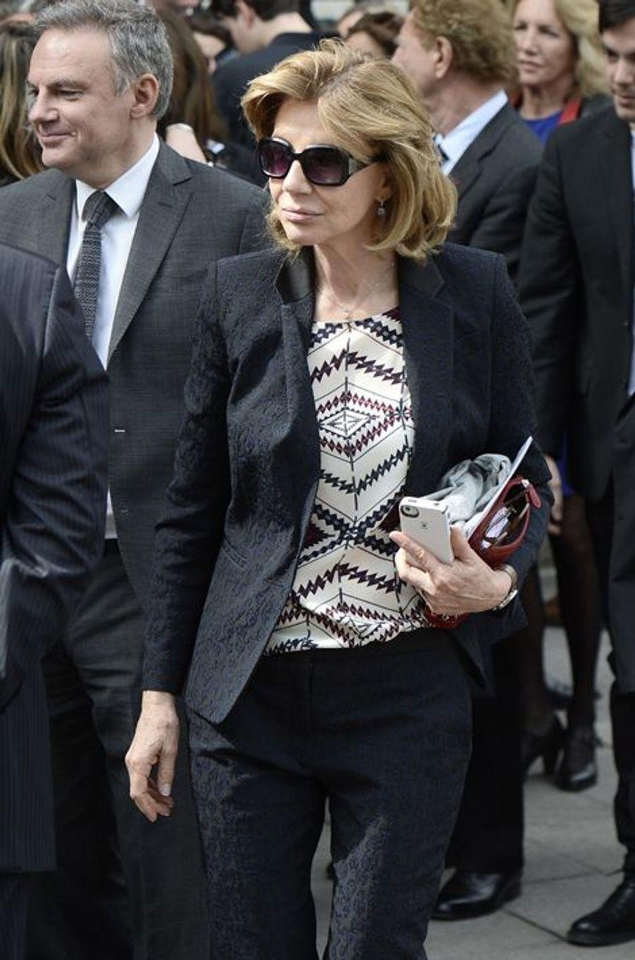 Béatrice Schönberg à Paris le 16 avril 2015